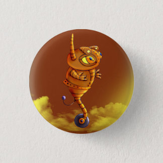 ARJA ROBOT ALIEN MONSTER SMALL BUTTON