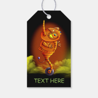 ARJA ROBOT CUTE ALIEN MONSTER  GIFT TAG