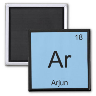 Arjun Name Chemistry Element Periodic Table Magnets