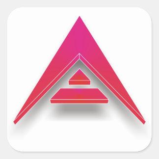 ARK in 3D Square Sticker