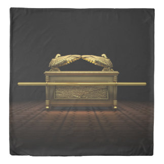 Ark of the Covenant (2 sides) Queen Duvet Cover