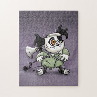 ARKACHON CUTE ALIEN MONSTER CARTOON PUZZLE 11 X 14