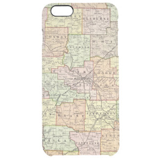 Arkansas 6 clear iPhone 6 plus case