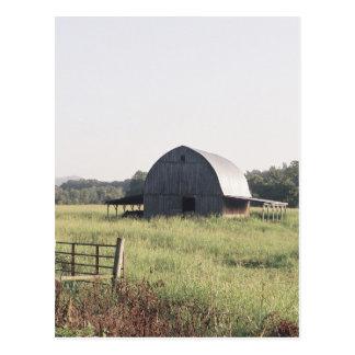 Arkansas Barn and Farmland Postcard