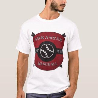 Arkansas Baseball Shield Logo T-Shirt