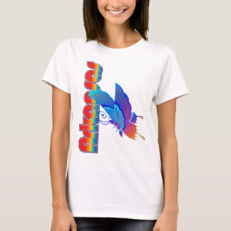 Arkansas bauhaus butterfly shirt