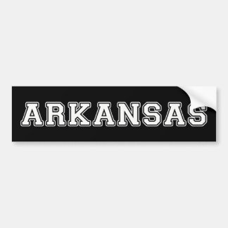 Arkansas Bumper Sticker