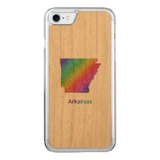 Arkansas Carved iPhone 8/7 Case