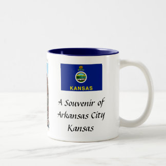 Arkansas City Souvenir Mug