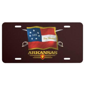 Arkansas Deo Vindice License Plate
