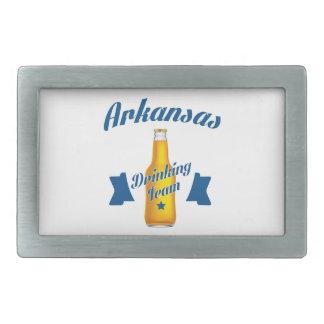 Arkansas Drinking team Belt Buckle