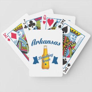 Arkansas Drinking team Bicycle Playing Cards
