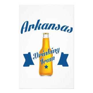 Arkansas Drinking team Stationery