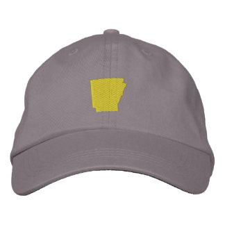 Arkansas Embroidered Baseball Caps