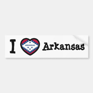 Arkansas Flag Bumper Sticker