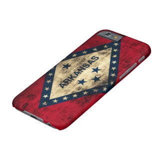 Arkansas Flag Grunge Barely There iPhone 6 Case