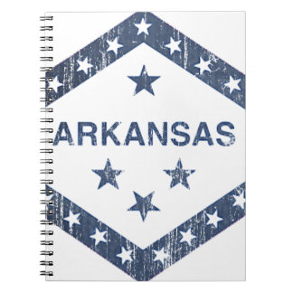 Arkansas Flag Notebook