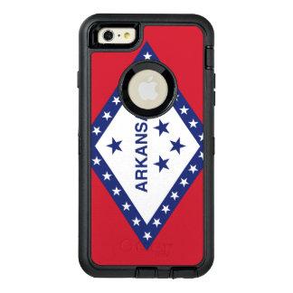 Arkansas Flag Otterbox Defender Iphone 6 Plus Case