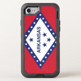 Arkansas Flag Otterbox Defender Iphone 7 Case