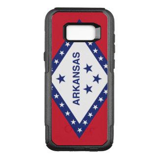 Arkansas Flag Otterbox Samsung Galaxy S8 Case