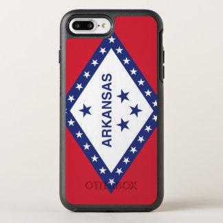 Arkansas Flag Otterbox Symmetry Iphone 7 Plus Case