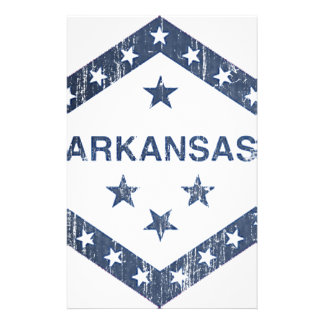 Arkansas Flag Stationery