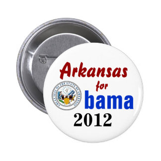 Arkansas for Obama 2012 2 Inch Round Button