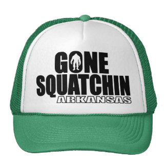 ARKANSAS Gone Squatchin - Original Bobo Trucker Hat