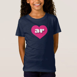 Arkansas hot pink heart - mini love T-Shirt