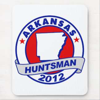 Arkansas Jon Huntsman Mouse Pad
