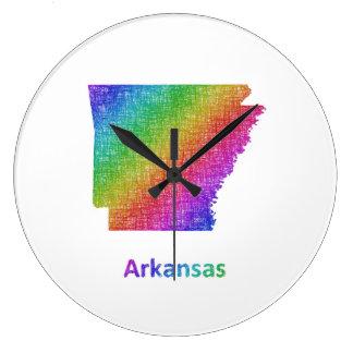 Arkansas Large Clock