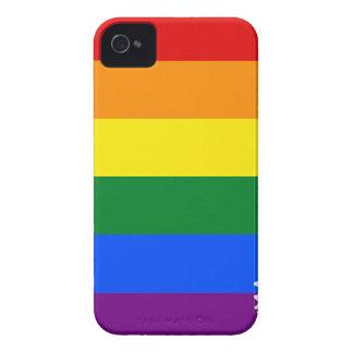 Arkansas LGBT Flag Map Case-Mate iPhone 4 Cases