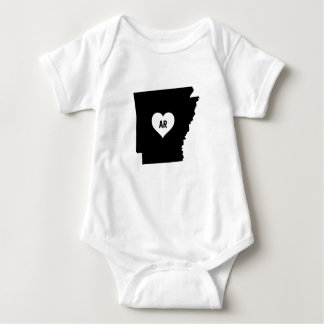 Arkansas Love Baby Bodysuit