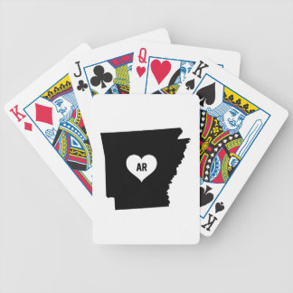 Arkansas Love Bicycle Playing Cards