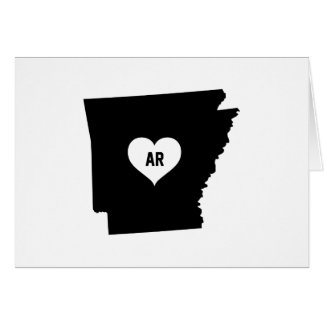 Arkansas Love Card