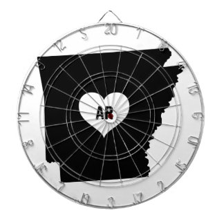 Arkansas Love Dartboard