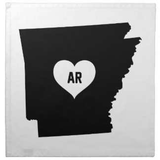 Arkansas Love Napkin