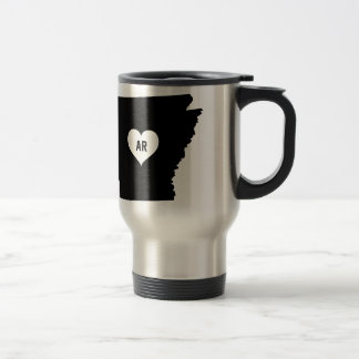 Arkansas Love Travel Mug