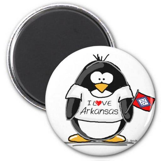 Arkansas Penguin Magnets