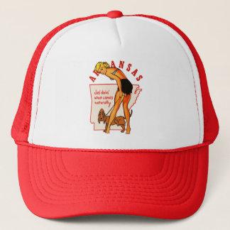 Arkansas Pinup Trucker Hat