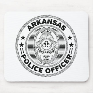 Arkansas Police Officer Mouse Pad