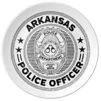 Arkansas Police Officer Plate