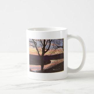 Arkansas River Sunset Painting Coffee Mug