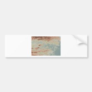 Arkansas River Valley- Classic Style Bumper Sticker