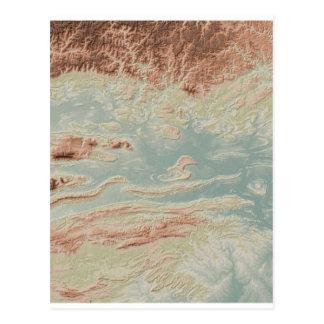 Arkansas River Valley- Classic Style Postcard