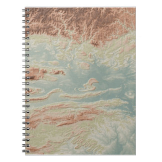 Arkansas River Valley- Classic Style Spiral Notebook