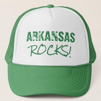 ARKANSAS Rocks Words Green Hat