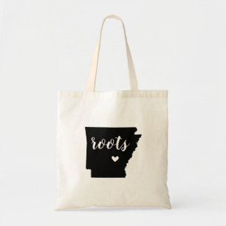 Arkansas Roots State Tote Bag