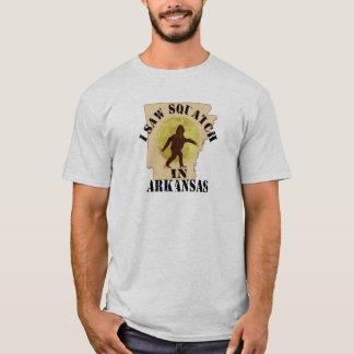 Arkansas Sasquatch Bigfoot Spotter - I Saw Him T-Shirt