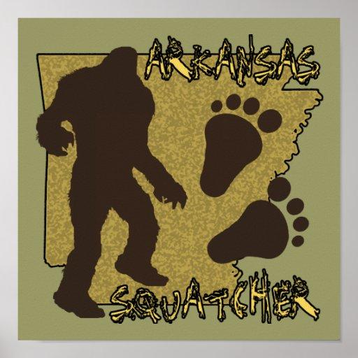 Arkansas Squatcher Poster